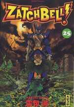 Zatch Bell T25, manga chez Kana de Raiku