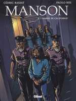 Manson T2 : L'ombre de Californie (0), bd chez Glénat de Rassat, Bisi, Langlois, Pradelle