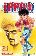Ippo – Saison 1 - La rage de vaincre, T21, manga chez Kurokawa de Morikawa