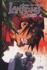 Lanfeust quest T4, manga chez Soleil de Tarquin, Arleston, Lullabi