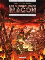 Les chroniques de Magon T2 : Genèses (0), bd chez Delcourt de Jarry, Lapeyre, Brants