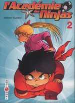 L'académie des Ninjas T2, manga chez Bamboo de Hosono
