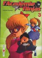 L'académie des Ninjas T3, manga chez Bamboo de Hosono