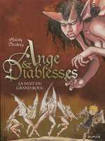 Ange et diablesses T2 : La nuit du grand bouc (0), bd chez Dupuis de Desberg, Hardy, Schwendimann