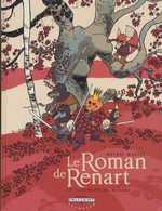 Le roman de Renart T3 : Le jugement de Renart (0), bd chez Delcourt de Mathis, Martin