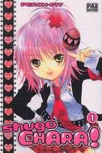 Shugo chara – Edition simple, T1, manga chez Pika de Peach-Pit