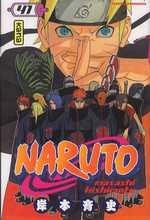 Naruto T41, manga chez Kana de Kishimoto
