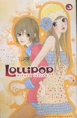 Lollipop T3, manga chez Delcourt de Iketani