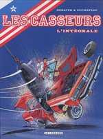 Les casseurs T2, bd chez Le Lombard de Duchateau, Denayer, Fernandez