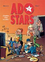 Adostars T3 : J'habite chez un ado (0), bd chez Dupuis de Bercovici, Noblet, Léonardo