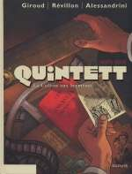 Quintett T6 : La colline aux serments (0), bd chez Dupuis de Giroud, Révillon, Cuzor, Kraehn, Gillon, TBC, Uriel, Alessandrini, Bonin, Versaevel
