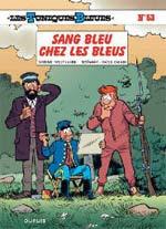 Les Tuniques bleues T53 : Sang bleu chez les bleus (0), bd chez Dupuis de Cauvin, Lambil, Léonardo