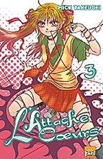 L'attache coeurs T3, manga chez Taïfu comics de Takeuchi