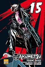Akumetsu  T15, manga chez Taïfu comics de Tabata, Yogo