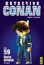 Detective Conan T59, manga chez Kana de Aoyama