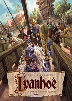 Ivanhoé T1 : Le grand tournois d'Ashby (0), bd chez Delcourt de Yann, Sanchez