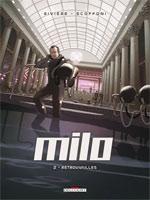 Milo T2 : Retrouvailles (0), bd chez Delcourt de Rivière, Scoffoni