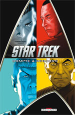 Star Trek T1 : Compte à rebours (0), comics chez Delcourt de Jones, Johnson, Messina, Niro, Maddaleni