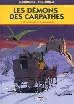 Les démons des Carpathes T1 : Le testament du comte Brasov (0), bd chez Delcourt de Chanoinat, Marniquet, Galopin