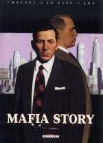Mafia Story T5 : Lepke (0), bd chez Delcourt de Chauvel, Le Saëc, Lou