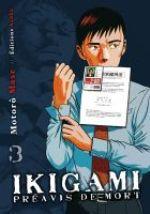 Ikigami Préavis de mort  T3, manga chez Asuka de Mase