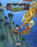 Donjon Monsters T9 : Les profondeurs (0), bd chez Delcourt de Trondheim, Sfar, Killoffer, Walter
