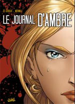 Le journal d'Ambre, bd chez Soleil de Di Giorgio, Mormile, Studio gotem