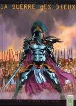 La guerre des dieux T1 : De bruit et de fureur (0), bd chez Soleil de Mangin, Yazghi, Kathelyn