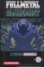 Fullmetal Alchemist T21, manga chez Kurokawa de Arakawa
