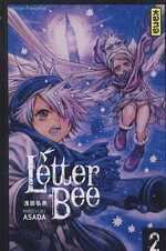Letter bee T2, manga chez Kana de Asada