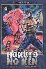 Hokuto no Ken – Edition Simple, T9, manga chez Asuka de Hara, Buronson