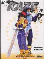 Kaze T3, manga chez Glénat de Kanzaki