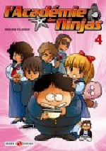 L'académie des Ninjas T4, manga chez Bamboo de Hosono