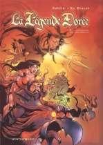 La légende dorée T2 : La chevauchée des coquadrilles (0), bd chez Vents d'Ouest de Joblin, Le Discot, Saerus