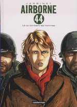 Airborne 44 – cycle 1 : La bataille des ardennes, T1 : Là où tombent les hommes (0), bd chez Casterman de Jarbinet