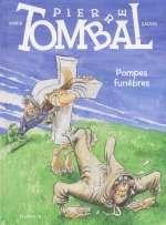 Pierre Tombal T26 : Pompes funèbres (0), bd chez Dupuis de Cauvin, Hardy, Cerise