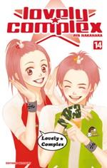 Lovely complex T14, manga chez Delcourt de Nakahara