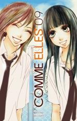 Comme elles T9, manga chez Delcourt de Fujisue