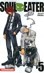 Soul eater T5, manga chez Kurokawa de Ohkubo