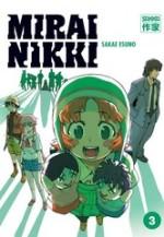 Mirai Nikki T3, manga chez Casterman de Esuno