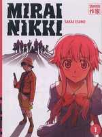 Mirai Nikki T1, manga chez Casterman de Esuno