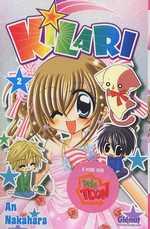 Kilari  T2, manga chez Glénat de Nakahara