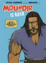 Moundir is back, bd chez Carabas de Elghorri, Drac
