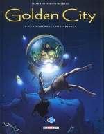 Golden city T8 : Les naufragés des abysses (0), bd chez Delcourt de Pecqueur, Malfin, Schelle