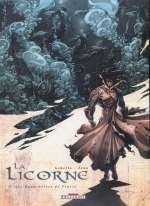 La licorne T3 : Les eaux noires de Venise (0), bd chez Delcourt de Gabella, Jean