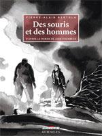 Des souris et des hommes, bd chez Delcourt de Bertola