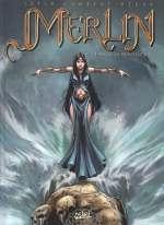 Merlin – cycle 1 : Cycle initiatique, T10 : La Princesse d'Ys (0), bd chez Soleil de Istin, Lambert, Héban