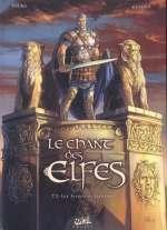 Le chant des elfes T2 : Les Invasions Barbares (0), bd chez Soleil de Falba, Ratera, Héban, Digikore studio