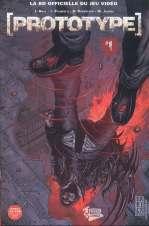 Prototype T1, comics chez Fusion Comics de Gray, Palmiotti, Robertson, Jacobs
