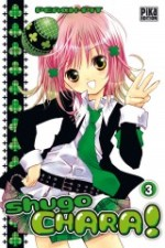 Shugo chara – Edition simple, T3, manga chez Pika de Peach-Pit